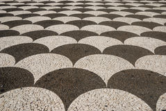 Pavimento, funchal, madeira, Portugal Fotos de Stock Royalty Free