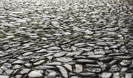 Pavimento i pietra Arkivfoto