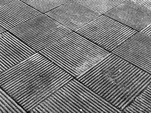 Pavimento nero adorabile Fotografie Stock