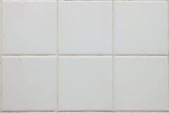 Pavimento non tappezzato bianco Fotografia Stock