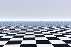 Pavimento non tappezzato infinito Fotografia Stock Libera da Diritti