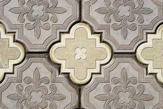 Pavimento ornamentado Imagens de Stock