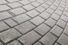 Pavimento pavimentado del guijarro Imagen de archivo libre de regalías