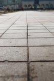 Pavimento pavimentado del guijarro Fotos de archivo libres de regalías