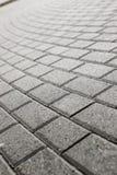 Pavimento pavimentado del guijarro Imagen de archivo