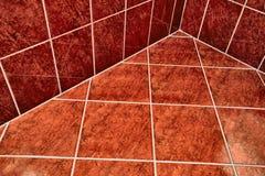 Pavimento piastrellato del bagno fotografia stock