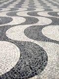 Pavimento portugués típico imagen de archivo libre de regalías