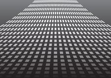 Pavimento quadrato Fotografie Stock