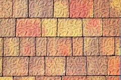 Pavimento que suela la textura al aire libre colorida fotos de archivo