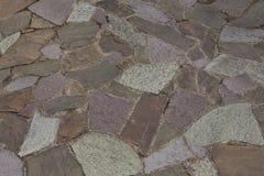 Pavimento ruvido delle pietre Fotografia Stock