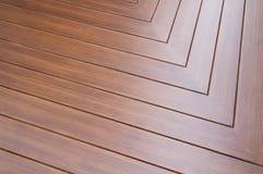 Pavimento solido di legno fotografie stock libere da diritti