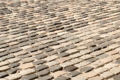 Pavimento velho do cobblestone Imagens de Stock