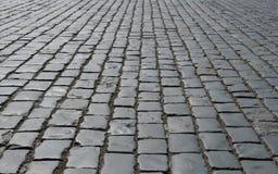 Pavimento viejo del guijarro Fotografía de archivo