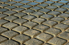 Paving. Bricks on North Queensland boat ramp Royalty Free Stock Images