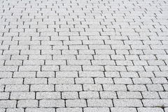 Paving. A photo of a pavement's surface Stock Image