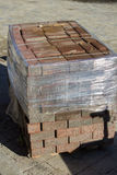 Paving blocks packed Stock Images
