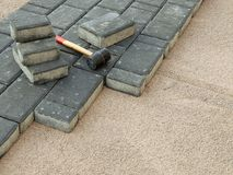 Paving blocks Stock Photos