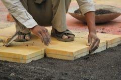Paving Blocks Royalty Free Stock Images