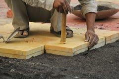 Paving Blocks Stock Photography