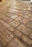 Paving bricks (pavers) Stock Photo