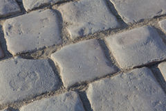 Paving of the castle of Versailles Stock Photo