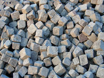Paving cobblestones Stock Photography