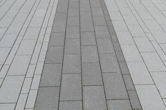 Paving groove Stock Images