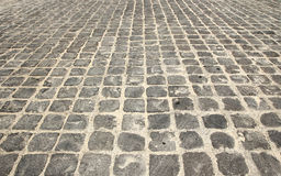Paving on the road Royalty Free Stock Photos