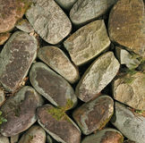 Paving rock pattern Royalty Free Stock Image