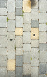 Paving slab texture Royalty Free Stock Images