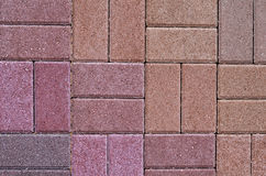 Paving slabs close up a background Stock Images