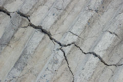 Paving slabs of concrete on the street harvested for laying trac Stock Photos