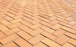 Paving slabs in the form of bricks. Background. Texture. Stock Image