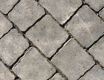 Paving slabs. Royalty Free Stock Photography