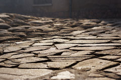 Paving slabs Royalty Free Stock Photography
