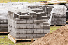 Paving slabs Stock Image