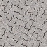 Paving Slabs. Seamless Tileable Texture. Royalty Free Stock Photography