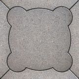 Paving Slabs. Seamless Tileable Texture. Royalty Free Stock Images