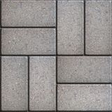 Paving Slabs. Seamless Tileable Texture. Stock Photography