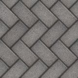Paving Slabs. Seamless Tileable Texture. Royalty Free Stock Photo