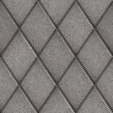 Paving Slabs. Seamless Tileable Texture. Royalty Free Stock Photos