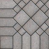 Paving Slabs. Seamless Tileable Texture. Stock Photos