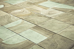 Paving slabs Stock Photos