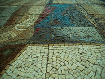 A paving stone background Stock Image