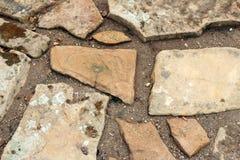Paving stone path Stock Image