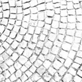 Paving stone pattern vector halftone texture overlay stock image