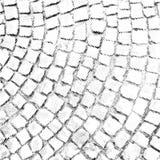 Paving stone pattern vector halftone texture overlay vector illustration