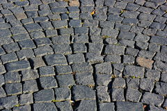 Paving stone pavement Stock Photo