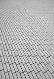 Paving stone symmetry Royalty Free Stock Photography