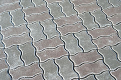 Paving stone texture Royalty Free Stock Images